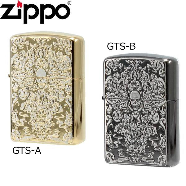 ZIPPO(ジッポー) ライター グロテスクスカル GTS-A (1117615)【smtb-s】