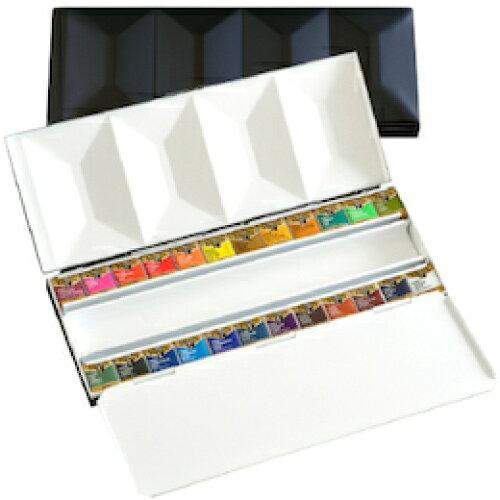 ホルベイン画材 ホルベイン 固形水彩絵具 パンカラー PN682 24色セット(メタルボックス) 2682 (1240100)【smtb-s】