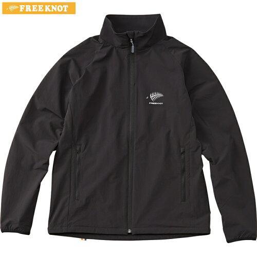 フリーノット(FREE KNOT) FREE KNOT フリーノット FOURON ライトストレッチジャケット ブラック(90) Mサイズ Y1136-M-90 (1261545)【smtb-s】