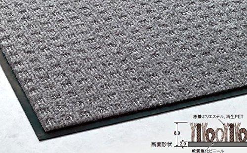 テラモト エコフロアーマット グレー 900×1500 MR0321465【smtb-s】