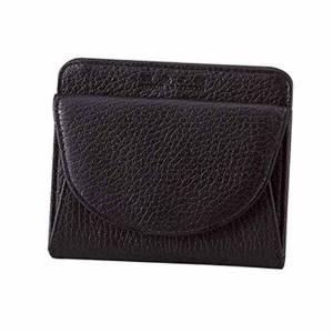 ホームアプライアンス 良品工房 日本製手作り牛革二つ折財布 ブラック  B0110-201B【smtb-s】