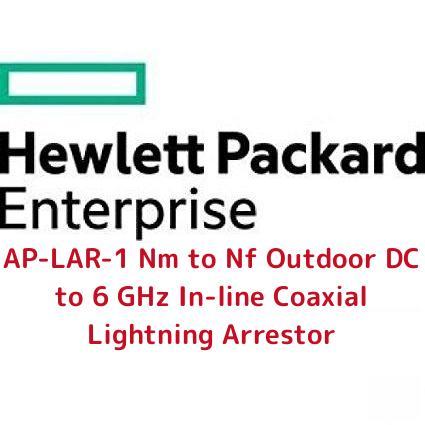 日本ヒューレットパッカード AP-LAR-1 Nm to Nf Outdoor DC to 6 GHz In-line Coaxial Lightning Arrestor(JW061A)【smtb-s】