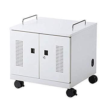 サンワサプライ ノートパソコン収納キャビネット(6台収納)(CAI-CAB105W)【smtb-s】