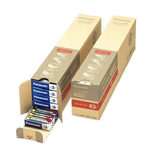 パナソニック アルカリ乾電池 単3形 業務用パック LR6XJN/100S【入数:2】【smtb-s】
