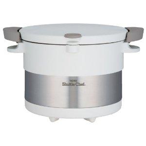 THERMOS(サーモス) サーモス 真空保温調理器 シャトルシェフ(3L)ピュアーホワイト【KBC-3001PWH】【smtb-s】