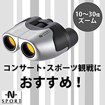 送料無料 池田レンズ工業 池田レンズ ズーム双眼鏡 お買い得 10~30倍 物品 コンパクト ZM30252