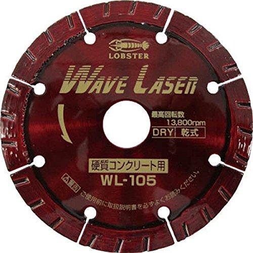 エビ ダイヤモンドホイール ウェブレーザー(乾式) 109mm WL105【smtb-s】