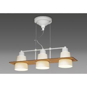 タキズミ GL3093PW LEDワイヤーペンダント ~4.5畳用 木飾り付(リバーシブル ナチュラル×ホワイト) GL3093PW [4.5畳 /電球色]【smtb-s】