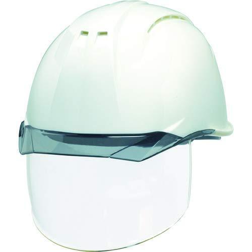 DICプラスチック DIC 透明バイザーヘルメット(シールド面付) AP11EVO-CSW KP 白/スモーク【smtb-s】