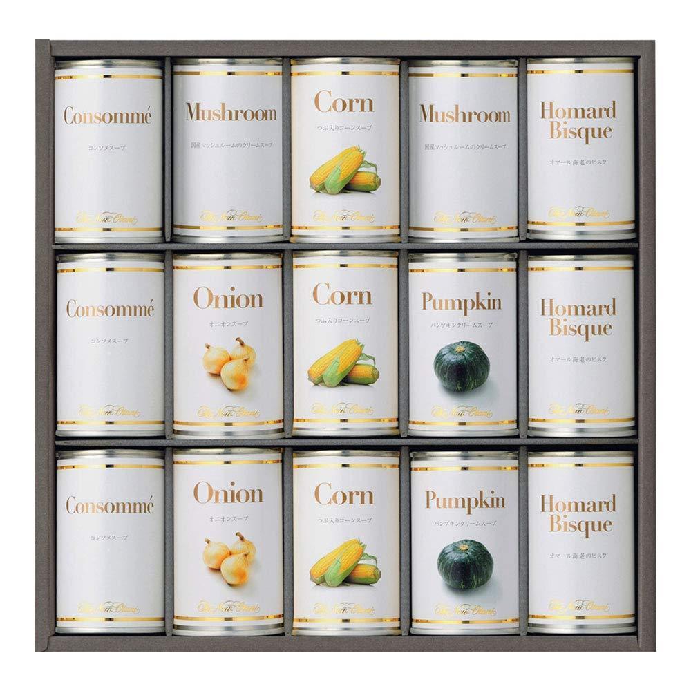 日本 バースデー 記念日 ギフト 贈物 お勧め 通販 送料無料 ホテルニューオータニ スープ缶詰セット AOR-100