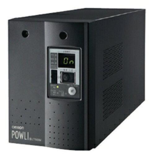 オムロン ソーシアルソリューションズ 無停電電源装置(常時インバータ給電) 750VA/500W:縦置(BU75SW)【smtb-s】