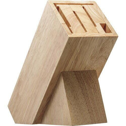 貝印 kai House SELECT 木製ナイフブロック AP5321(包丁スタンド)【入数:8】【smtb-s】