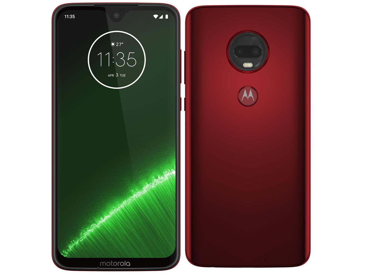 Motorola(モトローラ) スマートフォン Moto G7+ ビバレッド(PADU0002JP)【smtb-s】