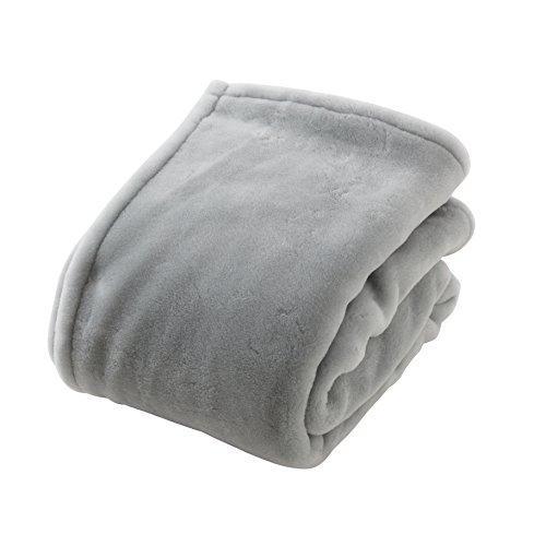 ナイスデイ 【583003N8】日本製ジロンエクストラファインウールマイヤー毛布 サイズ:D 色:グレージュ【smtb-s】