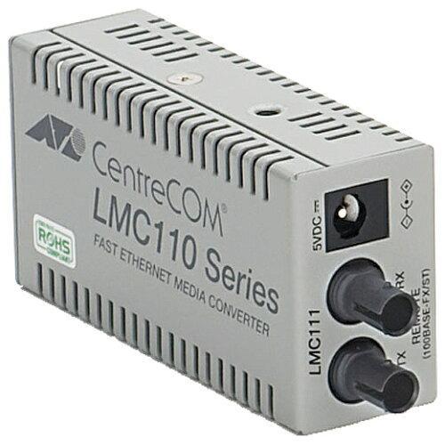 アライドテレシス CentreCOM LMC111-Z7 [100BASE-TXx1、100BASE-FX(ST)x1、50°C対応(デリバリースタンダード保守7年付)](0415RZ7)【smtb-s】
