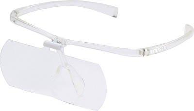 トラスコ中山 TRUSCO 双眼メガネルーペ1.6/2/2.3倍セット フレーム透明 code:7642474【smtb-s】
