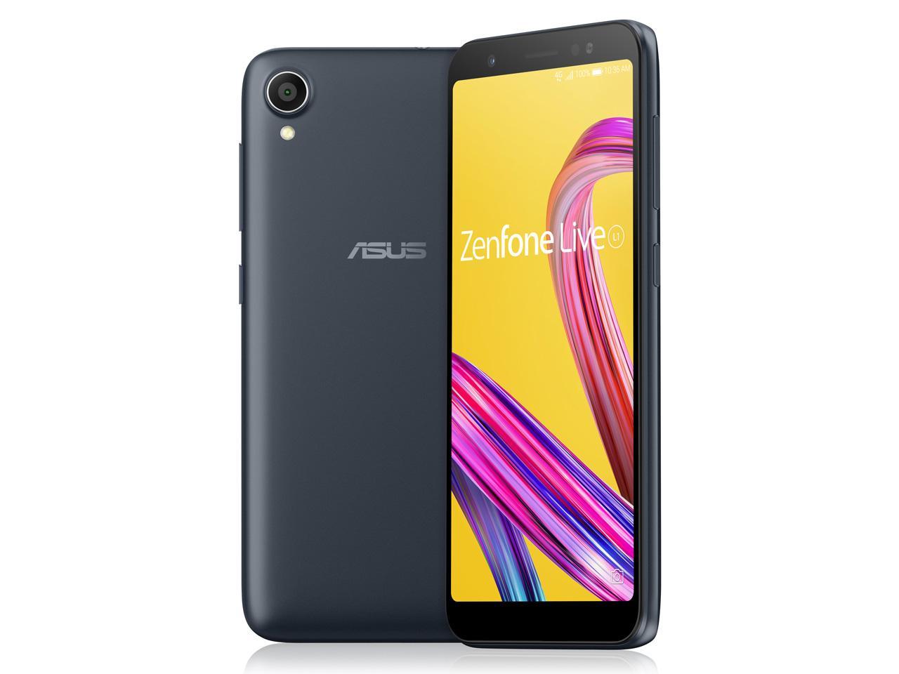 ASUS Zenfone Live L1 Series ミッドナイトブラック SIMフリースマートフォン (ZA550KL-BK32)【smtb-s】
