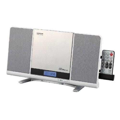 コイズミ(KOIZUMI) SDB4342W CDラジオ(ラジオ+SD+USBメモリー+CD) SDB4342W ホワイト [Bluetooth対応 /ワイドFM対応]【smtb-s】