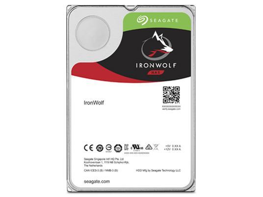 シーゲイト IronWolf NAS HDD 3.5inch SATA 6Gb/s 8TB 7200RPM 256MB(ST8000VN004)【smtb-s】