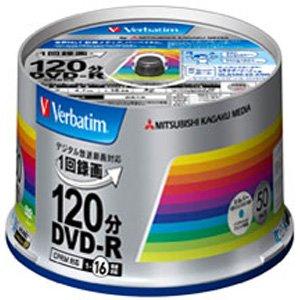 三菱化学メディア 録画用DVD-R (CPRM対応) 4.7GB 16倍速50枚入り VHR12JSP50V4 (VHR12JSP50V4)【smtb-s】