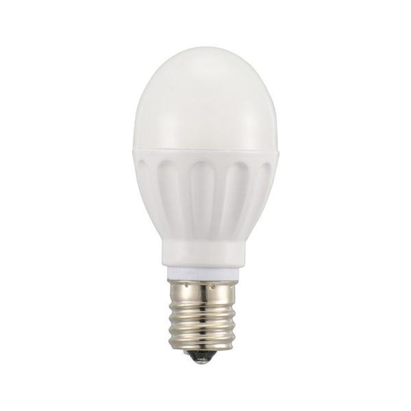 オーム電機 LED電球 ミニクリプトン形(60形相当/825lm/昼光色/E17/広配光195°/断熱材施工器具対応/12個入)【smtb-s】