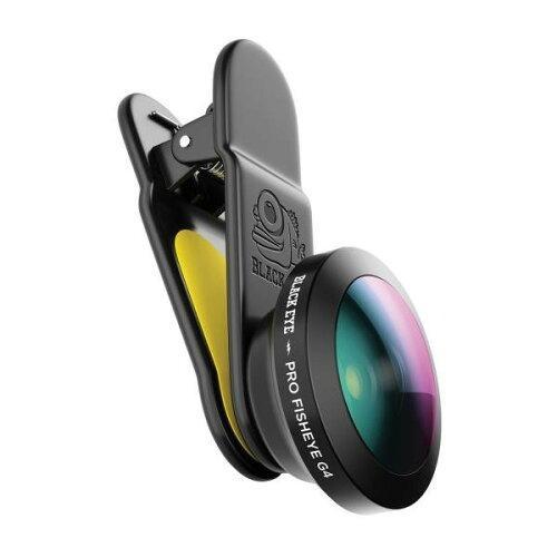 ライテック BLACK EYE(ブラックアイ) スマホ用クリップ式レンズ PRO FISH EYE G4 (1388715)【smtb-s】