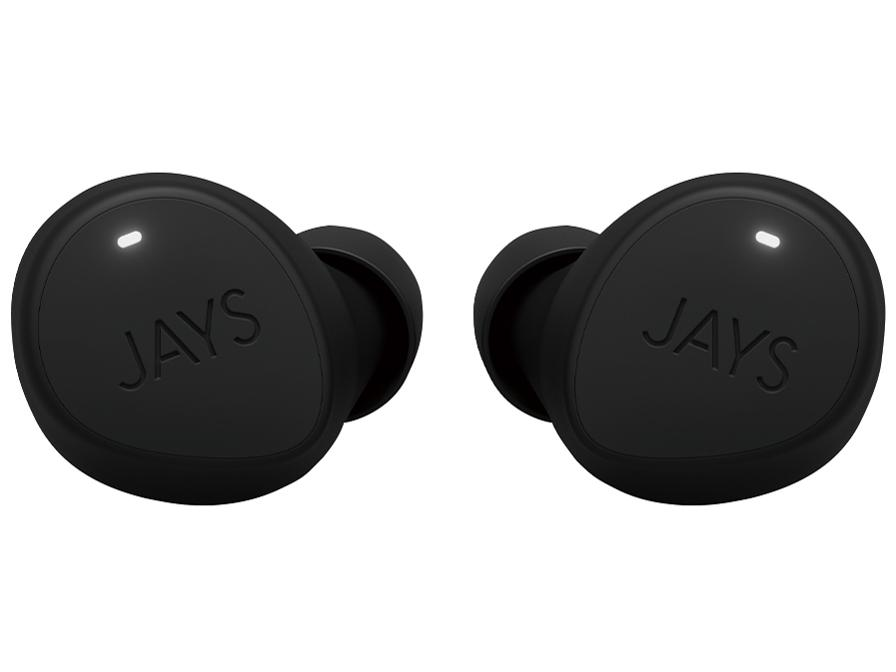JAYS m-Seven True Wireless(ブラック・ブラック) JS-MSTW-B/B(JS-MSTW-B/B)【smtb-s】