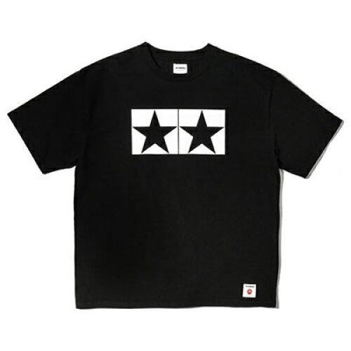 J WATANABE タミヤマーク BIG-Tシャツ Jメイド(黒/L) (ITEM No:67361-000)【smtb-s】