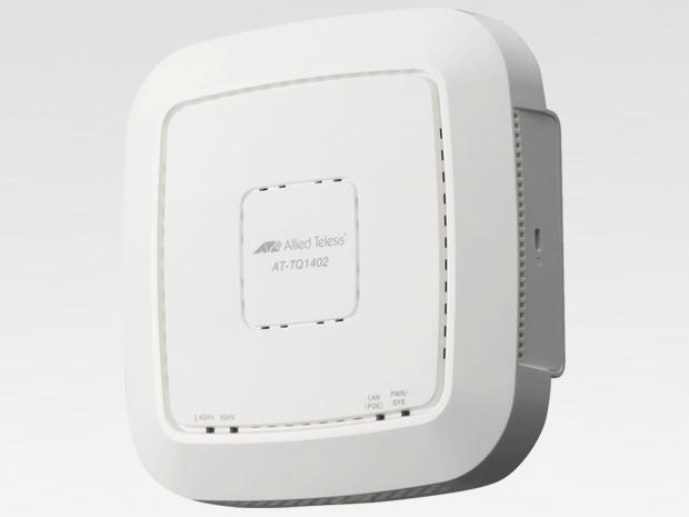 アライドテレシス AT-TQ1402-Z1[IEEE802.11a/b/g/n/ac対応 無線LANアクセスポイント、10/100/1000BASE-T(PoE-IN)x1(デリバリースタンダード保守1年付)](4053RZ1)【smtb-s】
