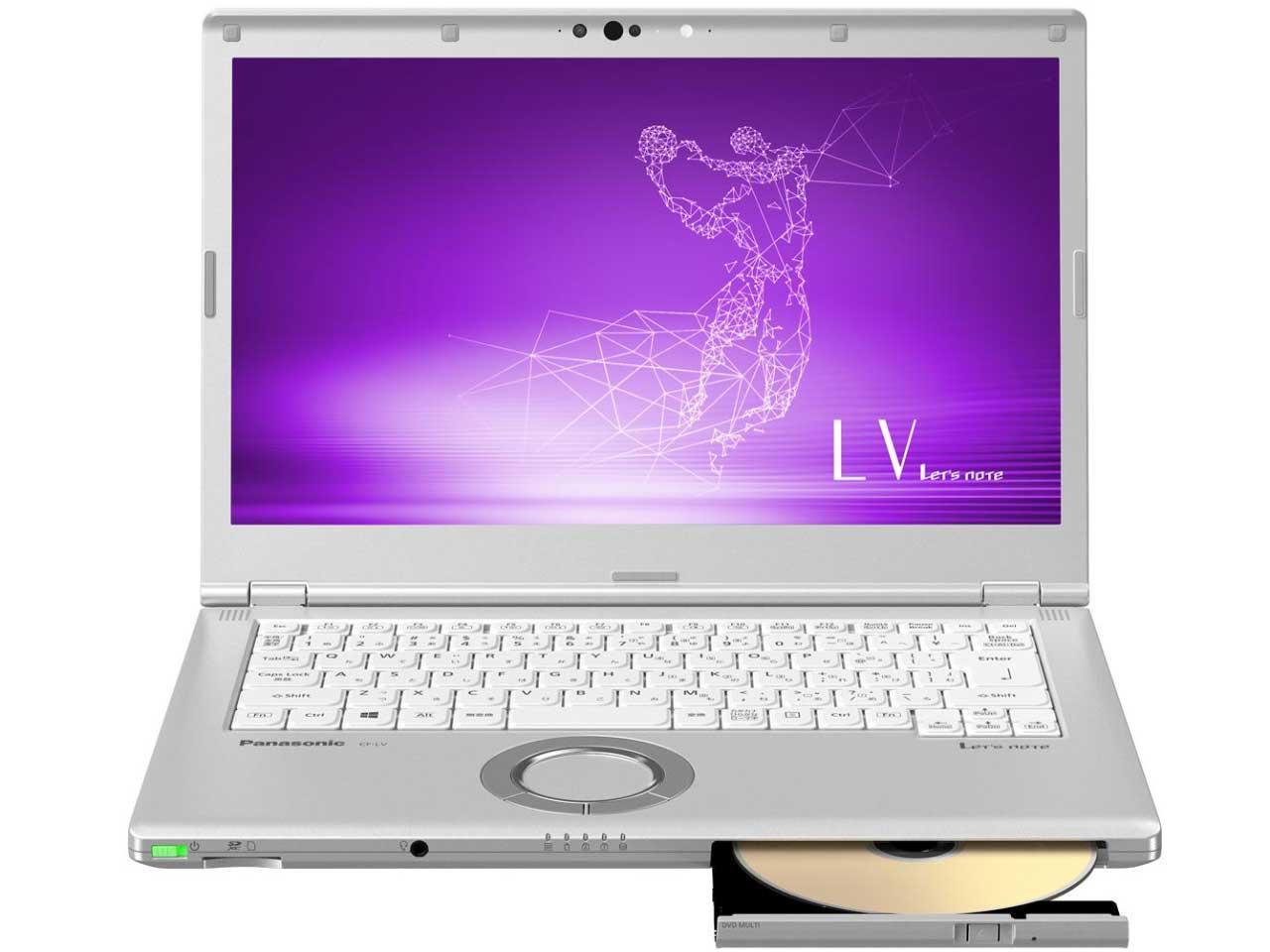 パナソニック Let's note LV8 法人(Core i5-8365UvPro/8GB/SSD256GB/SMD/W10P64/14.0FullHD/電池S/顔認証)(CF-LV8RDAVS)【smtb-s】
