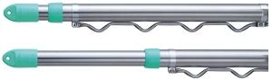 モリ工業 SA-4M・PH ハンガー掛付伸縮竿 内25、外29mm 寸法2200~4000mm【smtb-s】