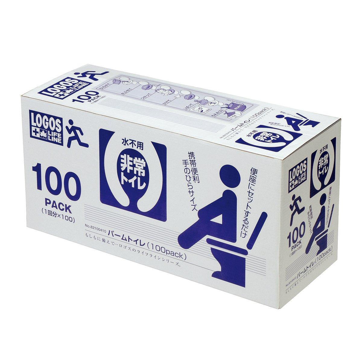 ロゴスコーポレーション LLL パームトイレ(100pcs)  82100410【smtb-s】