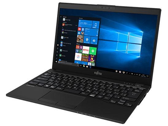 富士通 (FUJITSU) モバイルノートPC LIFEBOOK UH-X/D2 FMVUXD2B ピクトブラック [Win10 Pro・Core i7・13.3インチ・Office付き]【smtb-s】