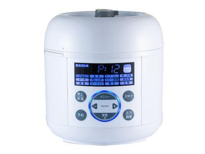 maxzen 電気圧力鍋(ホワイト) PCE-MX301-WH【smtb-s】