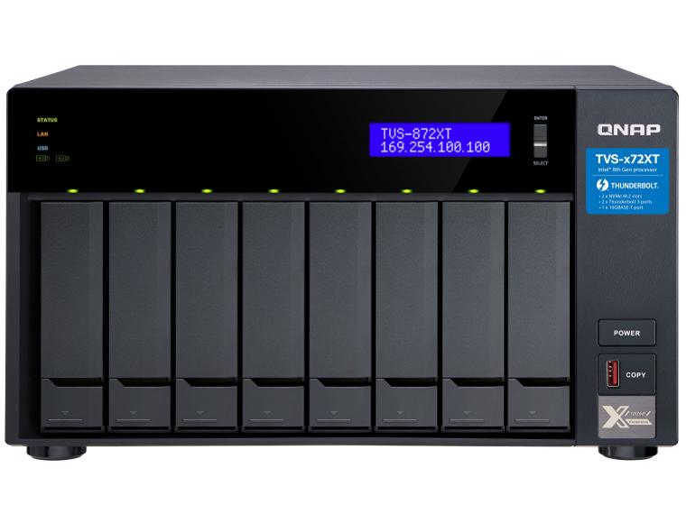 【送料無料】 QNAP TVS-872XT-i5-16G【smtb-s】