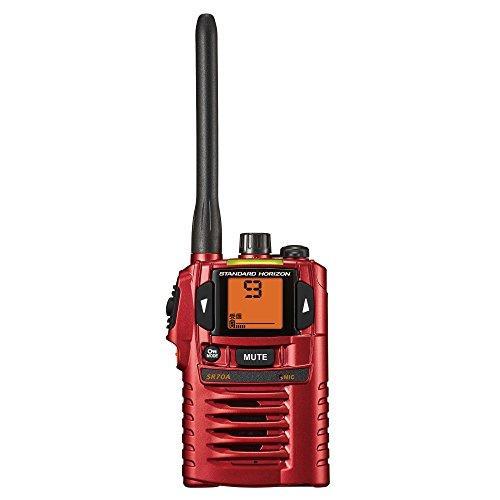 八重洲無線 特定小電力トランシーバー(レッド) SR70A-R【smtb-s】