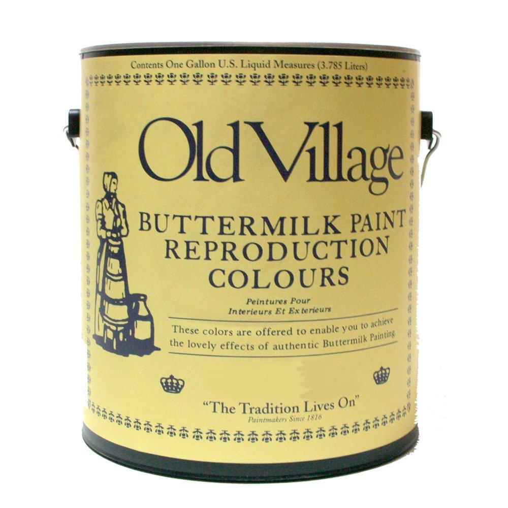 サン-ケイ Old Village バターミルクペイント オハイオ カップボード ブルー 3785mL 605-14291 BM-1429G (1392961)【smtb-s】