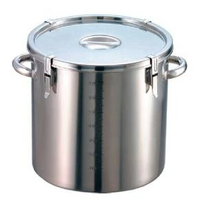 EBM 18-8 パッキン寸胴鍋(目盛付)39cm 手付  商品コード:8044500【smtb-s】