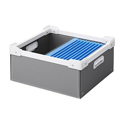 サンワサプライ プラダン製タブレット収納簡易ケース(10台用) 品番:CAI-CABPD43【smtb-s】