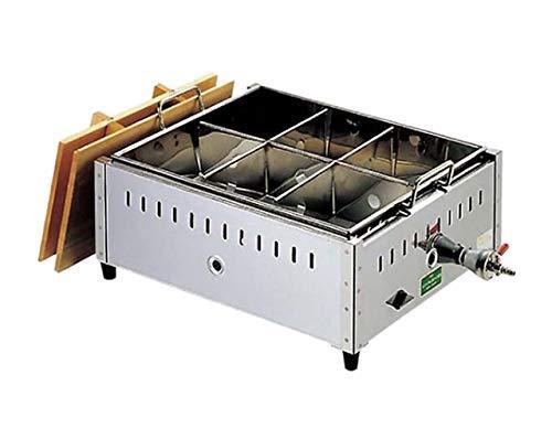 ノーブランド 商品コード:0885720 EBM 18-8 関東煮 おでん鍋 尺4(42cm)13A【smtb-s】