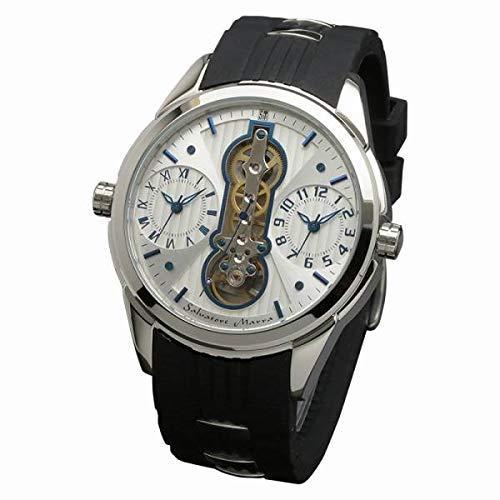 SMILE PROJECT Salvatore Marra(サルバトーレマーラ) 腕時計 SM18113-SSWHBL (1285197)【smtb-s】