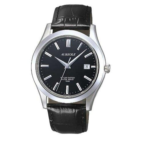 AUREOLE(オレオール) ドレス メンズ腕時計 SW-409M-6 (1332706)【smtb-s】