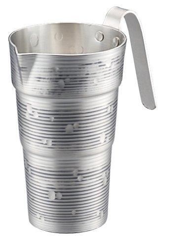 ノーブランド 商品コード:5384420 純銅チロリ(酒タンポ/錫被)雪月花 2合 CF-32-1SN【smtb-s】