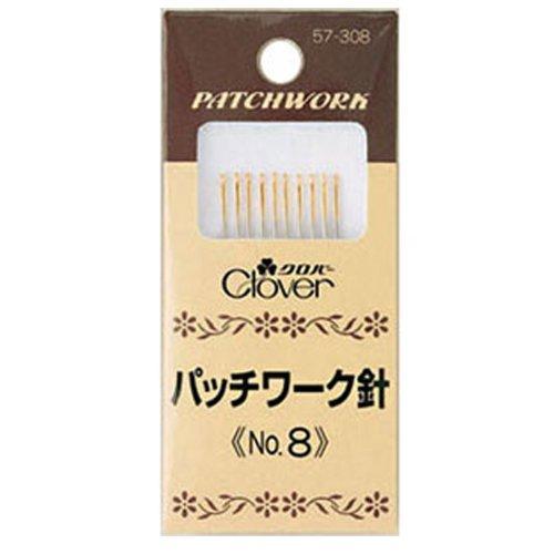 格安SALEスタート クロバー 特価品コーナー☆ Clover パッチワーク針 1372721 57-308 No.8