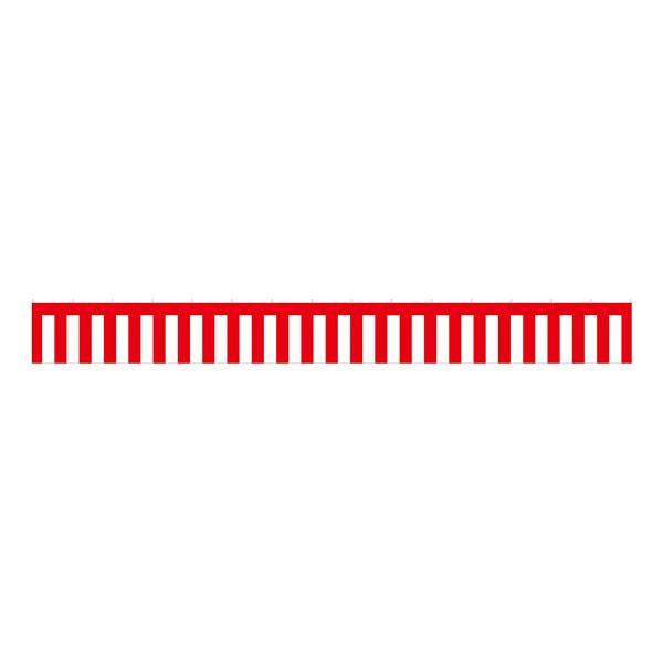 のぼり屋工房 B紅白幕 23944 トロピカル 5間 H900 (1352094)【smtb-s】