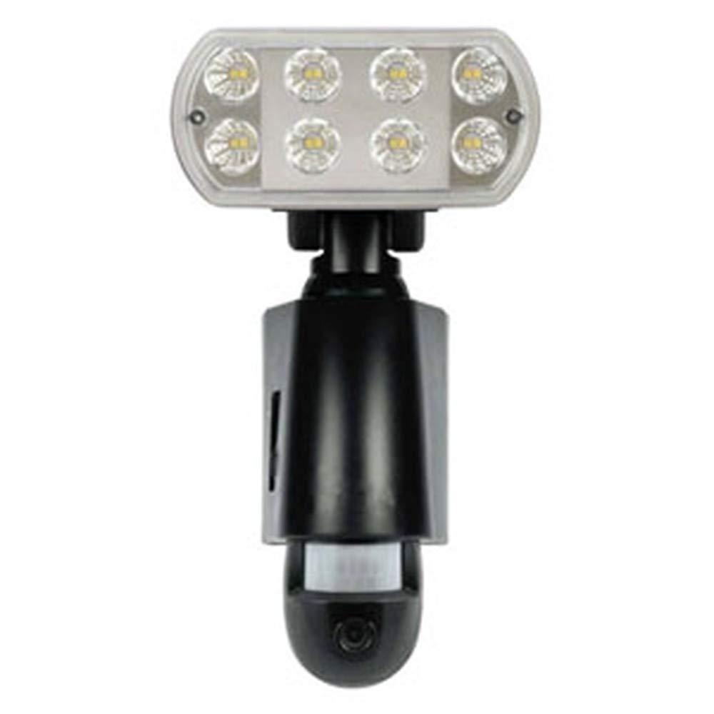 マザーツール SD内蔵LEDセンサーライトカメラ(ブラック)【smtb-s】