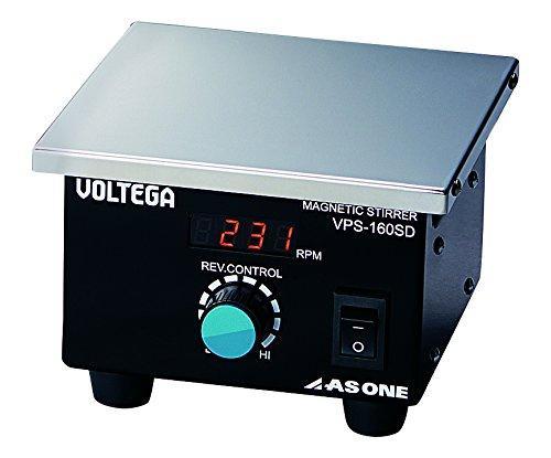 アズワン(As One) VOLTEGAパワースターラー (SUS天板)デジタルタイプ 160×160mm3-6758-01 ※事業者向け商品です【smtb-s】