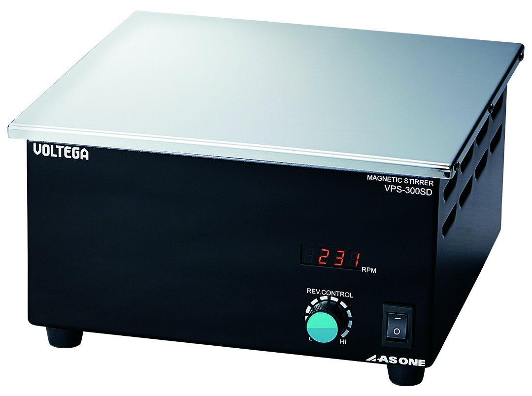 アズワン(As One) VOLTEGAパワースターラー (SUS天板)デジタルタイプ 300×300mm3-6758-03 ※事業者向け商品です【smtb-s】