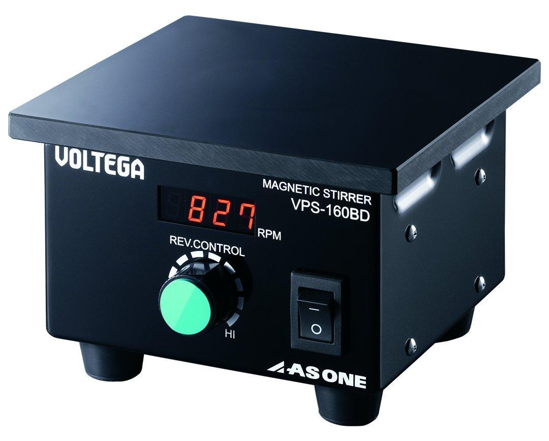 アズワン(As One) VOLTEGAパワースターラー (ベークライト天板)デジタルタイプ 160×160mm3-6757-01 ※事業者向け商品です【smtb-s】