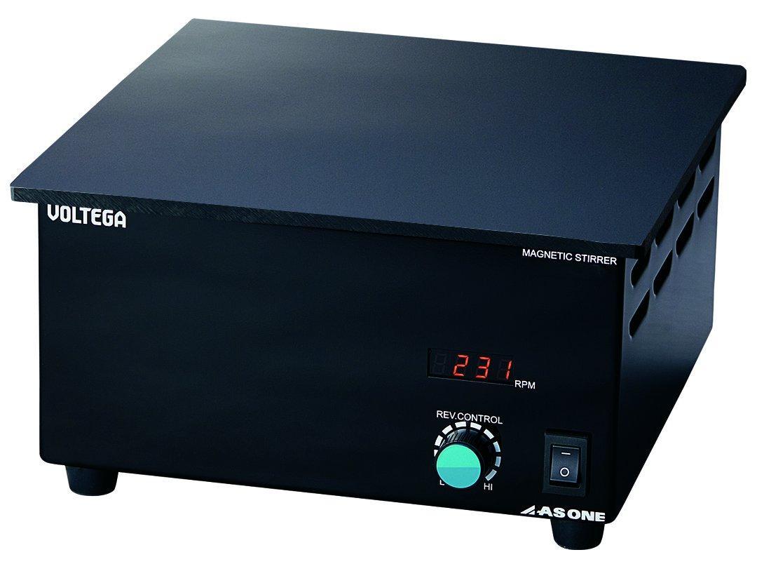 送料無料 アズワン As One VOLTEGAパワースターラー 300×300mm3-6757-03 ベークライト天板 捧呈 ※事業者向け商品です デジタルタイプ 特売